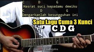 Kunci Gitar JANJI SUCI - Yovie & Nuno | By GE Mahendra