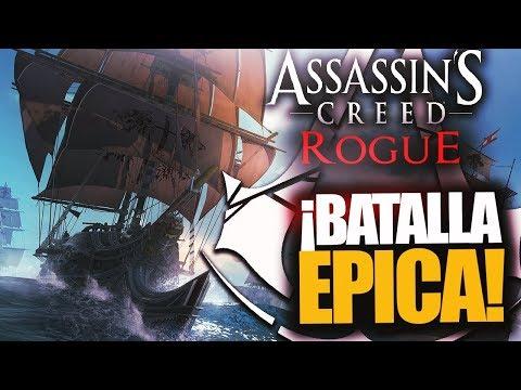 ¡BATALLA MUY ÉPICA EN ASSASSIN'S CREED ROGUE! - RAFITI