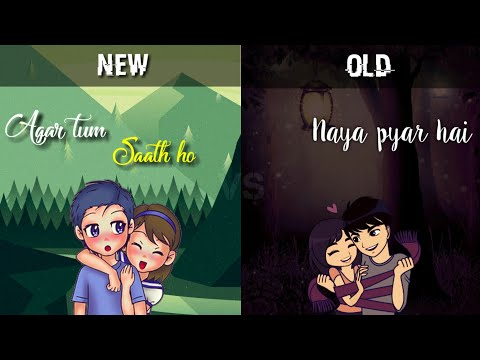 New VS Old Bollywood Songs Mashup | Raj Barman ft. Deepshikha | Lyrical WhatsApp Status