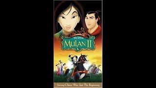 Video Opening to Mulan II 2005 Spanish VHS [Disney] download MP3, 3GP, MP4, WEBM, AVI, FLV Februari 2018