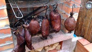 Коптильня для мяса и рыбы своими руками - Smokehouse for meat and fish