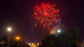 Салют в честь Дня Победы! Ташкент, Узбекистан 9Мая 2017