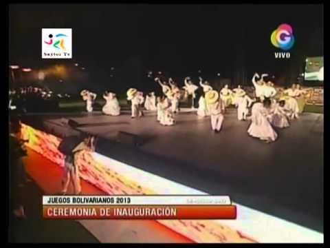 Inaguración de los XVII Juegos Bolivarianos - Trujillo 2013