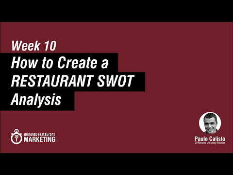 SWOT Analysis on Restaurant Business