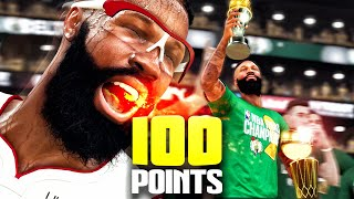 100 POINT TRIPLE-DOUBLE vs FORMER TEAM! NBA 2K20 My Career Gameplay Best Paint Beast Build