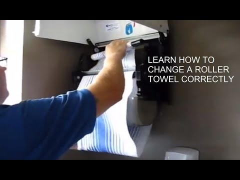 Cabinet Roller Towel Machine Service How To Load A CRT