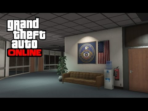 GTA 5 Online - IAA Building Secret Room Glitch