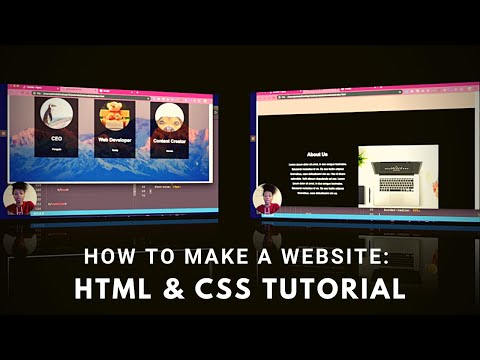 How To Make A Website Using HTML & CSS