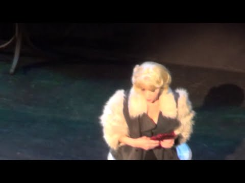 Audrey's Entrance  Ellen Greene  Little Shop of Horrors  2015 Encores! OffCenter Concert