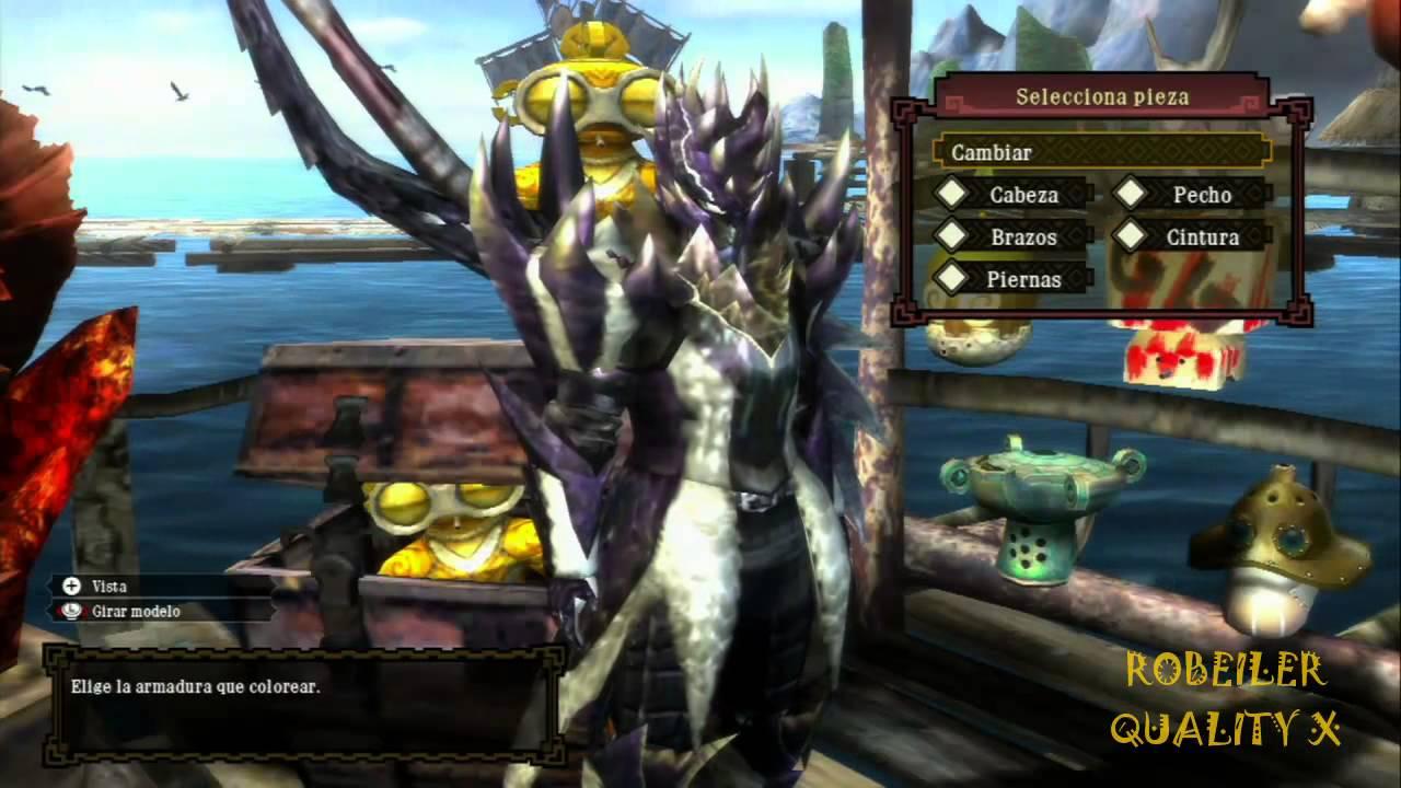 Monster Hunter 3 Ultimate Wii U Alatreon G Armor Analysis Youtube