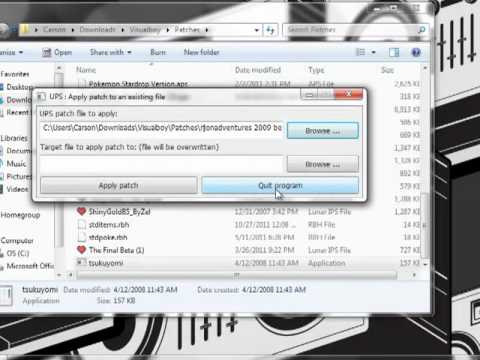 Patching Tutorial For IPS and UPS Files