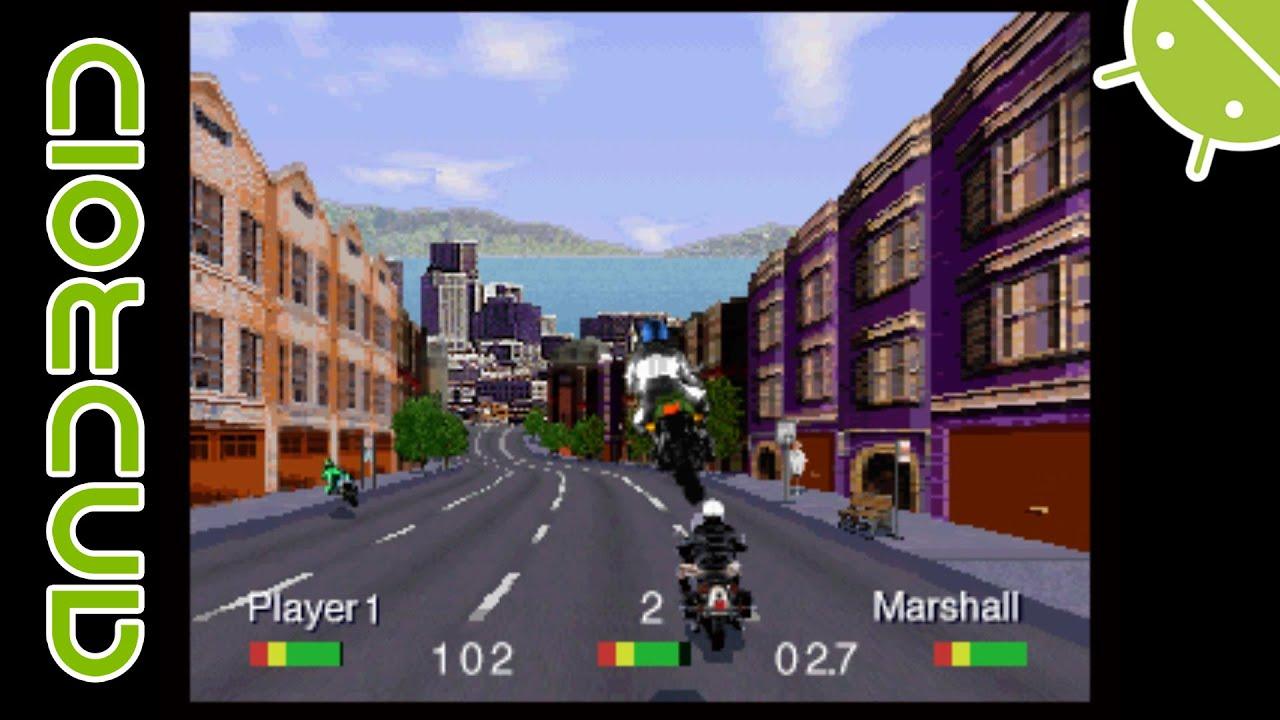 [60 FPS] Road Rash   NVIDIA SHIELD Android TV   RetroArch Emulator [1080p]    Panasonic 3DO