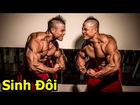 Cặp Sinh Đôi Việt Nam Sở Hữu Body Quái Vật   Việt Nam Không Nhỏ Bé