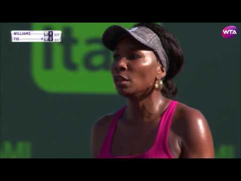 2017 Miami Open Day 6 | Shot of the Day | Venus Williams