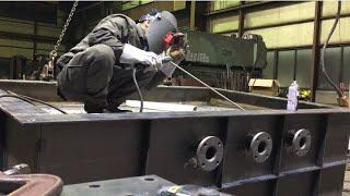 Kỹ thuật Hàn que hồ quang đấu góc siêu đẹp||welding