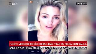 Fuerte video de Rocío Guirao Díaz tras su pelea con Dalila