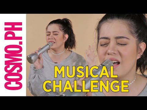 Sue Ramirez Musical Challenge Part 1