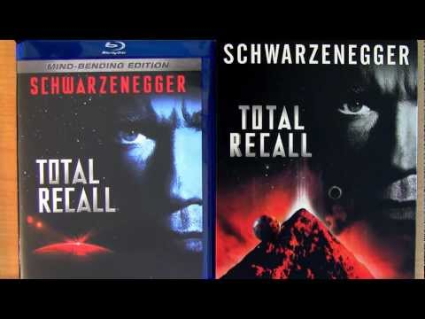 Total Recall Steelbook Blu Ray Unboxing Review Mind Bending Directors Edition