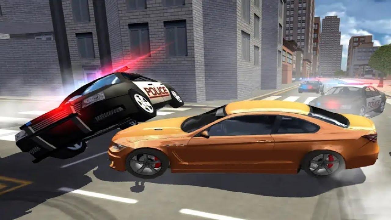 Extreme Car Driving Racing 3d Simulator Game Police Car Racing