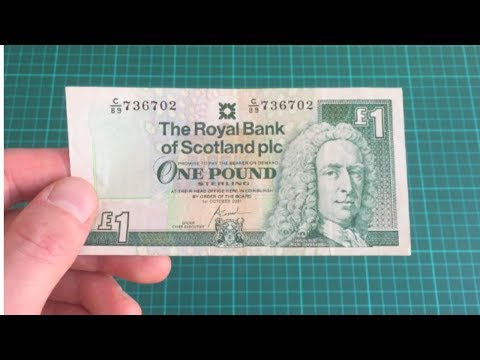 The Royal Bank of Scotland  - One Pound Note