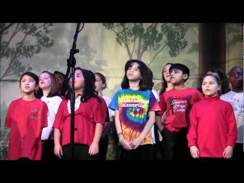 Tom Chapin 2012 Birthday Concert w/ The Valley Cottage Elementary School Choir, Tarrytown, NY