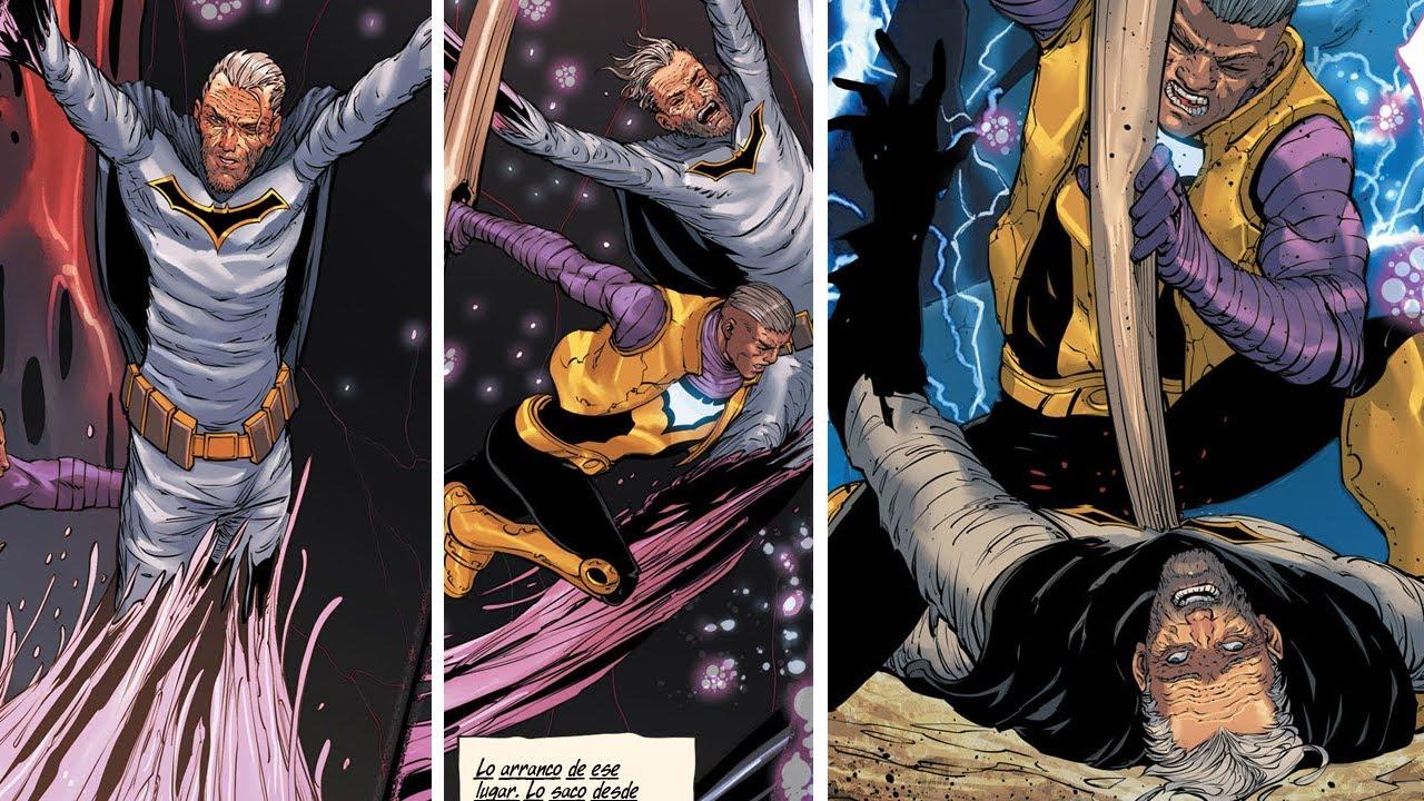 ¿Cómo Murió BARBATOS EL BATMAN DRAGÓN? #Shorts #BatmanMetal