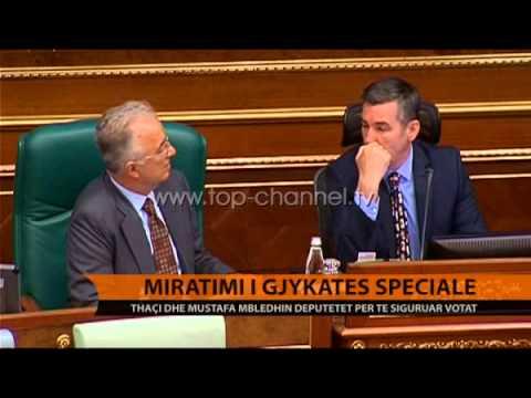 Votimi i Speciales, Thaçi e Mustafa takojnë grupet parlamentare - Top Channel Albania - News - Lajme