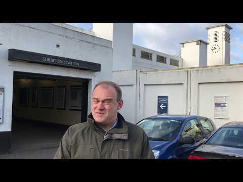 Improving Kingston and Surbiton's train services - Ed Davey