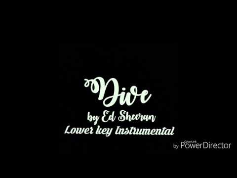 dive-lower-key-instrumental---ed-sheeran