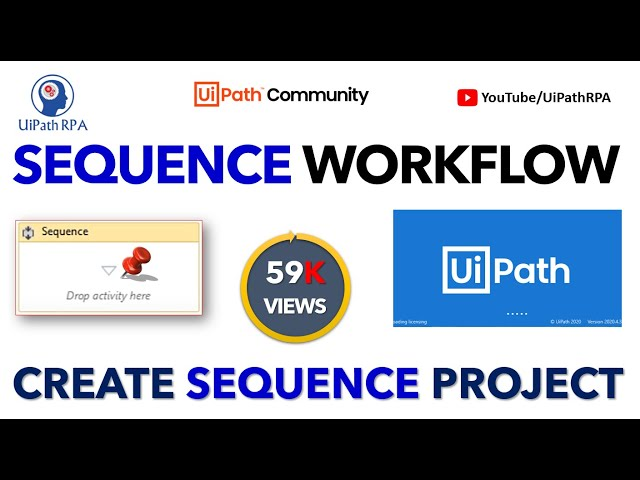 UiPath Sequence Basic Project|UiPath RPA Tutorial in Hindi