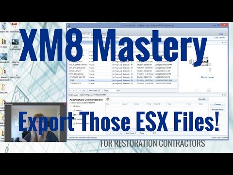 Sending Data Trasfer ESX Files from Xactimate - YouTube