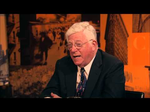City Talk: Richard Ravitch, NYS Lt. Governor; Sarah Bartlett, CUNY Grad School of Journalism; Pt. 1
