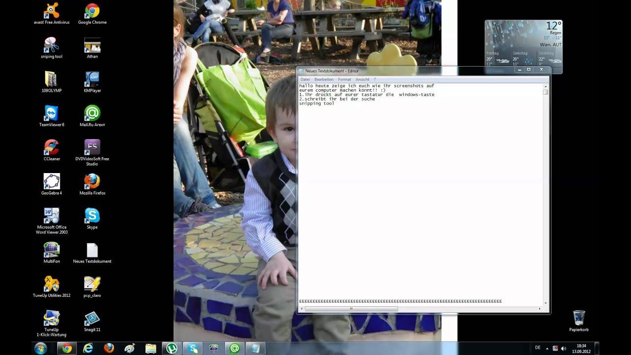 Wie Macht Man Screenshots