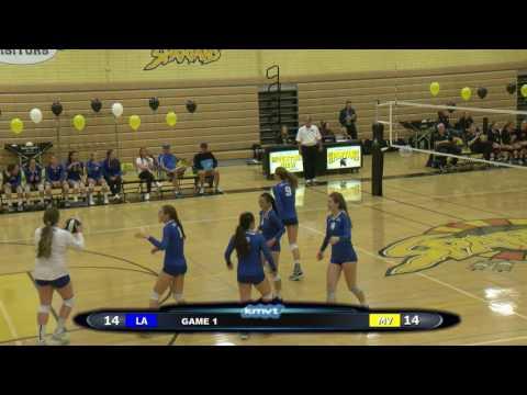 Los Altos Eagles vs Mountain View Spartans - Volleyball, October 27, 2016
