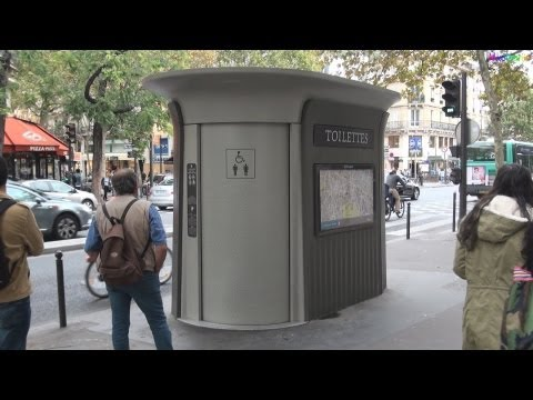 Street Furniture in Paris