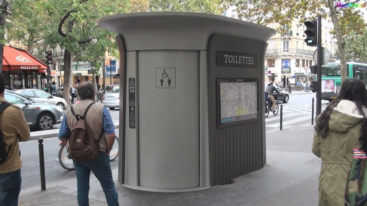 Street Furniture In Paris   YouTube