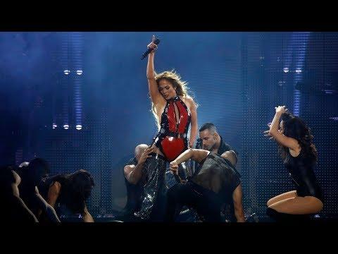 "Jennifer Lopez dancing ""HAVANA"" by Camila Cabello on CaliBash 2018 !!"