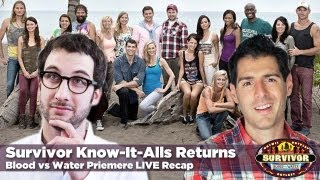 Survivor Blood vs Water Season Premere | Recap Episode 1: Blood is Thicker Than Anything