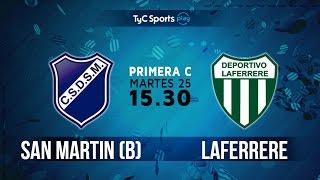 San Martín Burzaco vs Laferrere full match