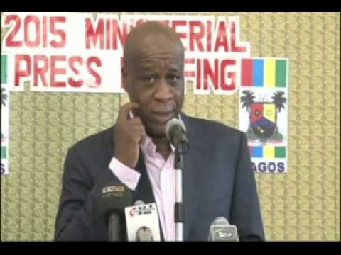2015 Press Briefing, Ministry Of Waterfront