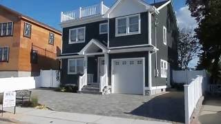 Long Island 140 Bayside Dr., Point Lookout, NY  *NEW Waterviet Beach Home For Sale HUG Real Estate