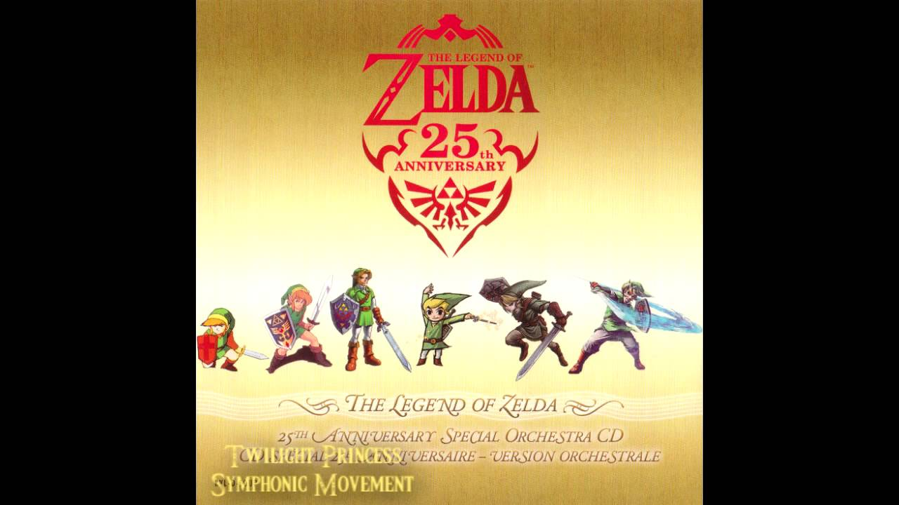 the legend of zelda 25th anniversary special orchestra cd youtube