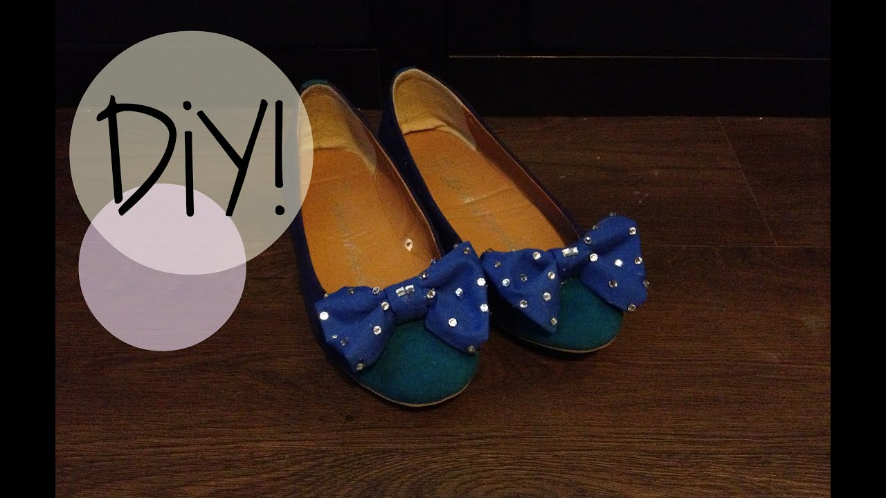 Top DIY| How to make Bow Shoes - YouTube PC08