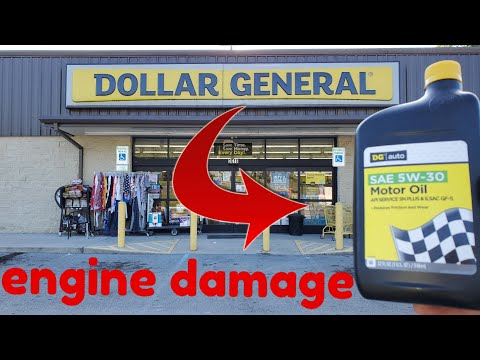 Dollar General Motor Oil Can Damage Your Engine?