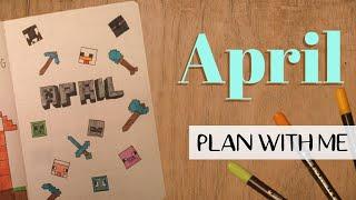 Plan With Me | APRIL 2021 BULLET JOURNAL Set Up
