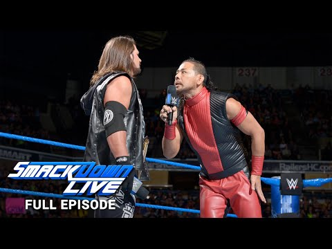 WWE SmackDown Full Episode, 22 May 2018