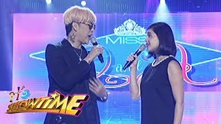 It's Showtime Miss Q & A: Anne and Vice exchange questions