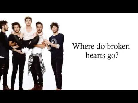 One Direction - Where Do Broken Hearts Go (Lyrics + Pictures)