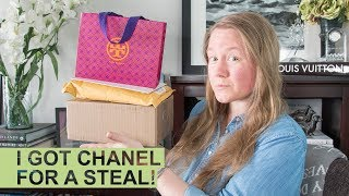 UNBOXING: Another CHANEL + Tory Burch SLG || Autumn Beckman