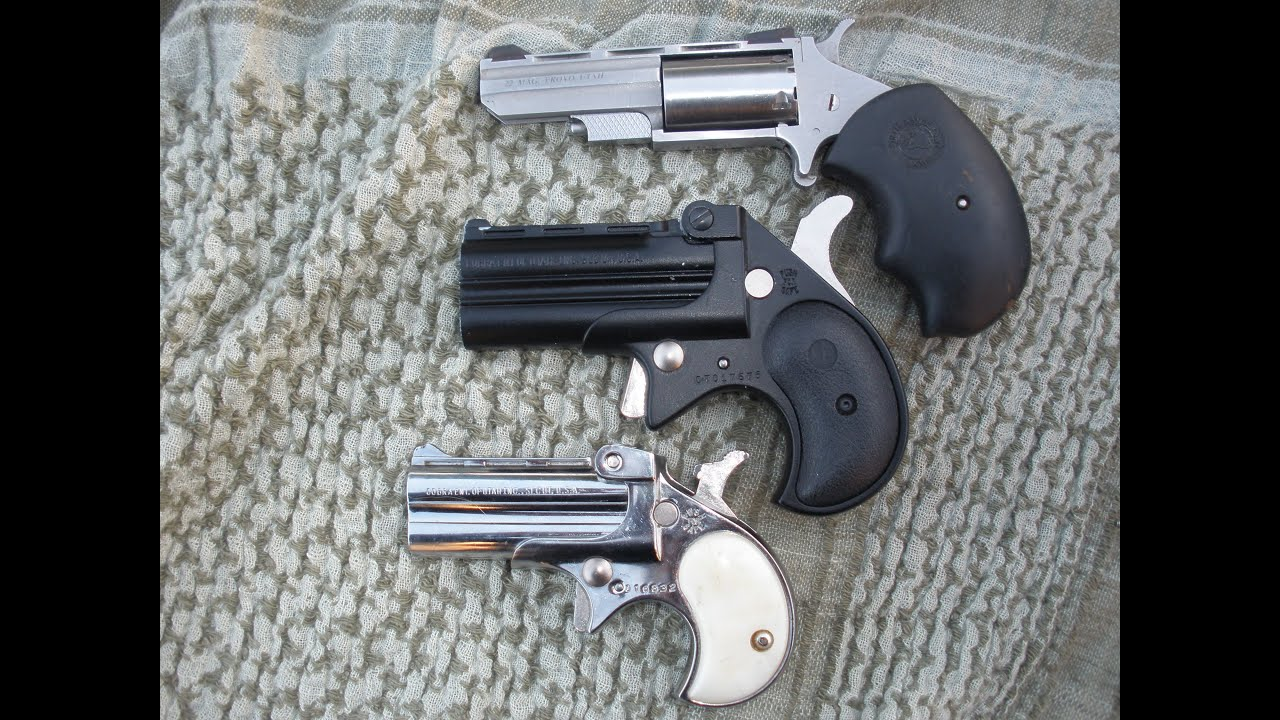Derringer pistols safety and review